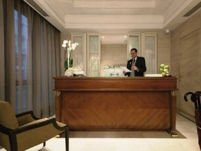 Reception hotel stendhal**** rome