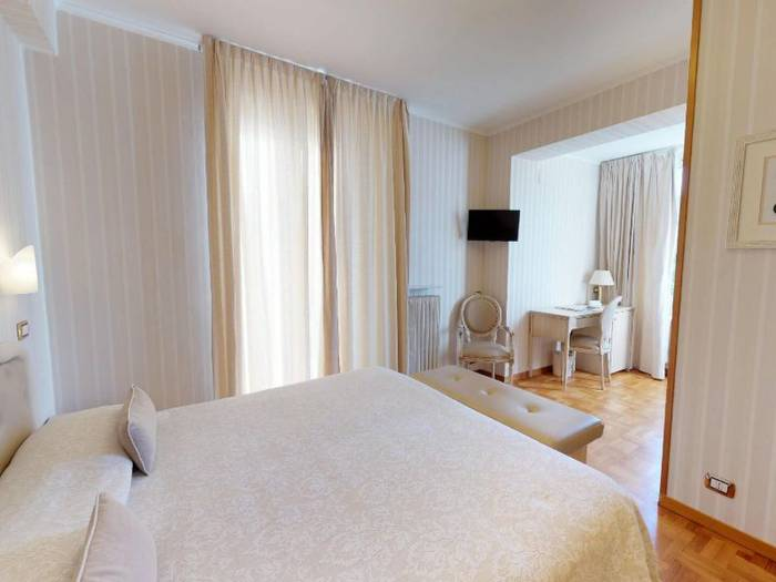 Double room with garden-sea view hotel metropole & santa margherita**** santa margherita ligure