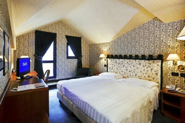 Classic single room Rizzi Aquacharme Hotel & Spa**** in BOARIO TERME