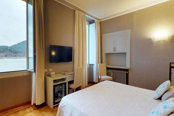 Double room with garden-sea view Hotel Metropole & Santa Margherita**** in SANTA MARGHERITA LIGURE