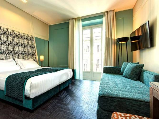 Deluxe room mascagni luxury rooms & suites**** rome