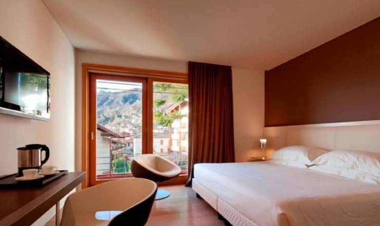 Exclusive room hotel milano alpen resort meeting & spa**** castione della presolana