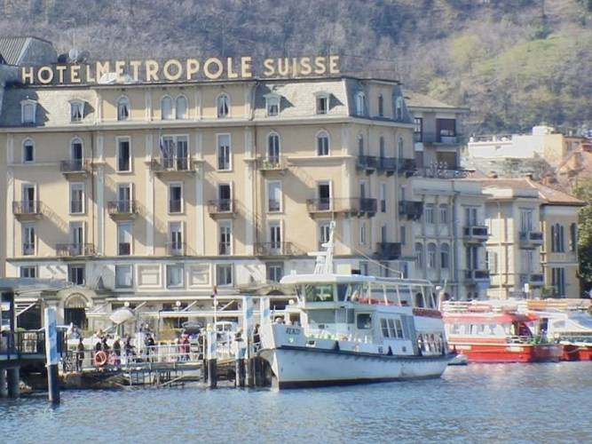 Panoramic view hotel metropole & suisse au lac**** como