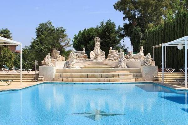 Swimming pool grand hotel vanvitelli**** caserta