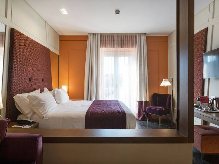 Deluxe double room mascagni luxury rooms & suites**** rome