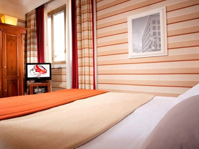 Superior single room hotel mascagni**** rome