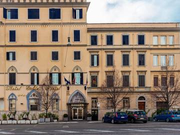 Outdoors hotel galles*** rome