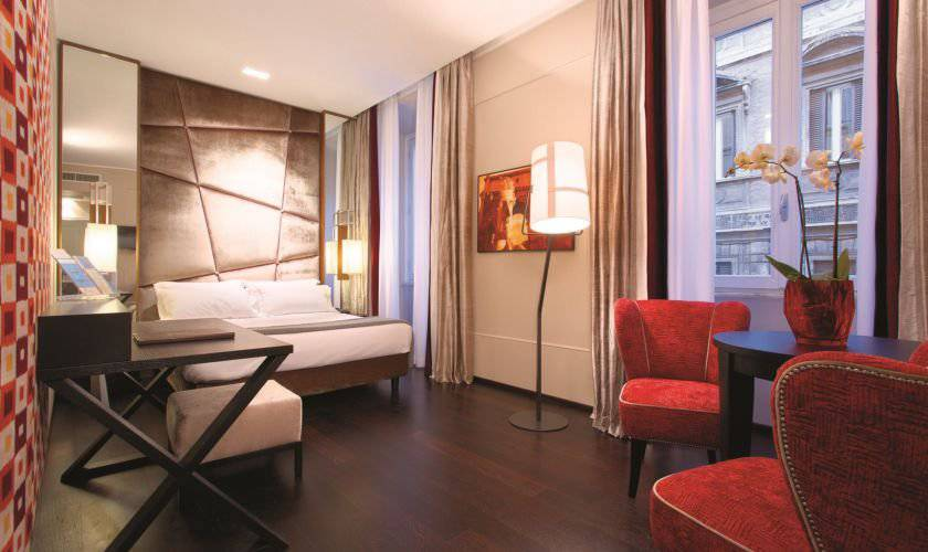 Deluxe double or twin room stendhal luxury suites**** rome