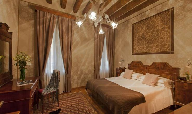 Deluxe double room hotel saturnia & international**** venice