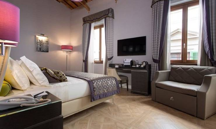 Deluxe double room hotel spadai**** florence
