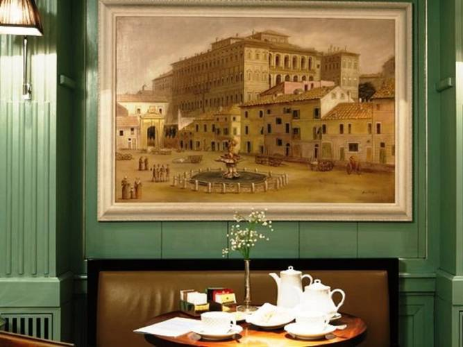 Lounge hotel stendhal**** rome