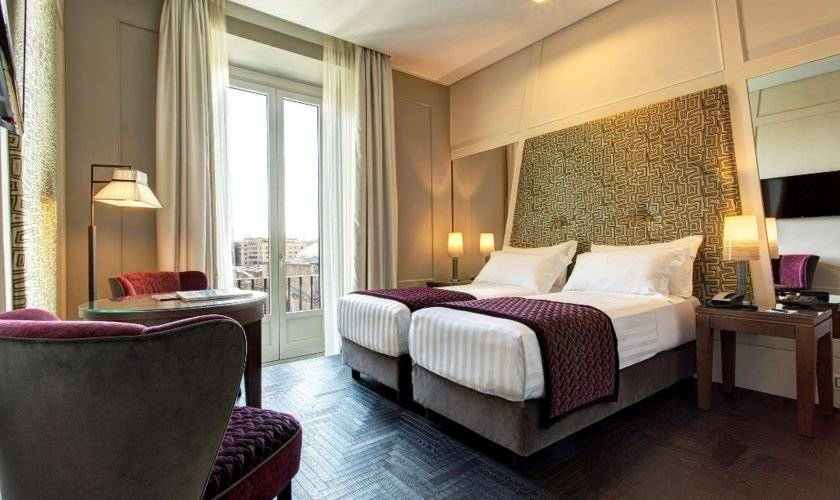Premium double room mascagni luxury rooms & suites**** rome