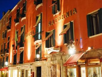 Ingresso hotel saturnia & international**** venezia