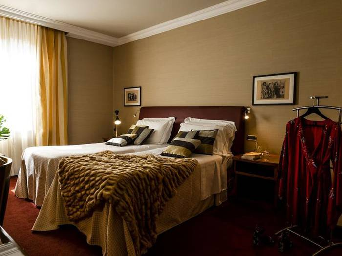 Double or twin beds room hotel accademia**** verona