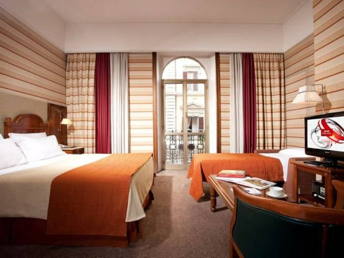Superior triple room hotel mascagni**** rome