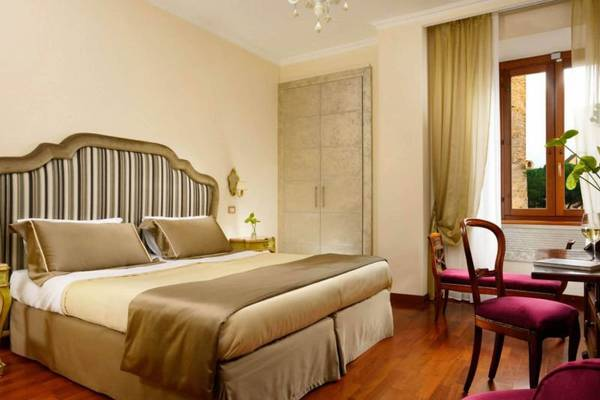 Superior double room with view Hotel Forum**** in ROME