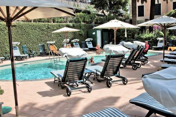 Summer outdoor swimming pool hotel metropole & santa margherita**** santa margherita ligure