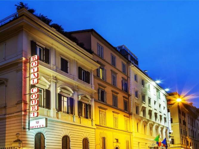 Esterno hotel royal court**** roma