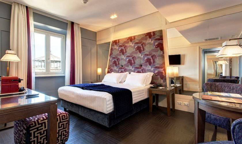 Deluxe double room mascagni luxury dependance**** rome