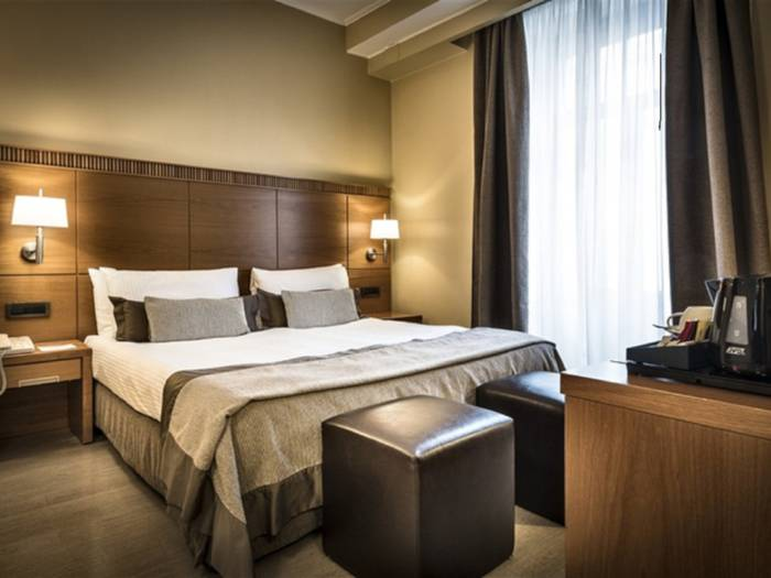 Executive double room hotel dei cavalieri milano duomo****