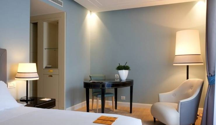 Superior double room turin palace hotel****