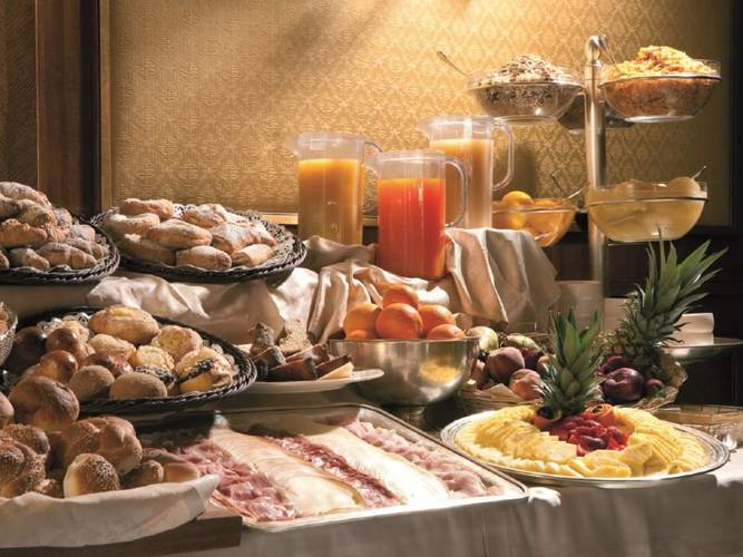 Buffet breakfast katane palace hotel**** catania