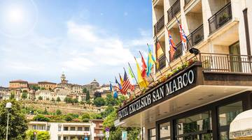 Outdoors hotel excelsior san marco**** bergamo
