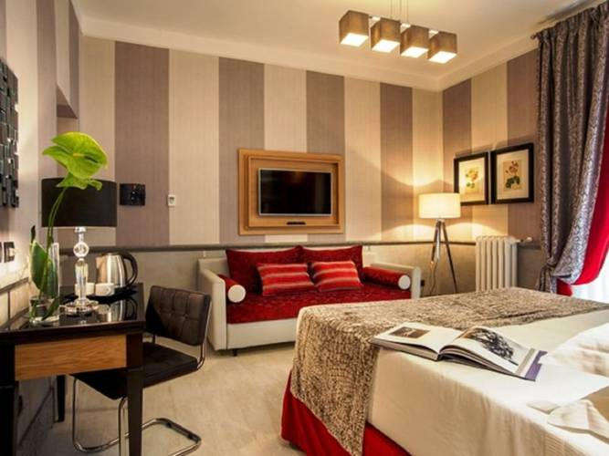 Camera tripla hotel royal court**** roma