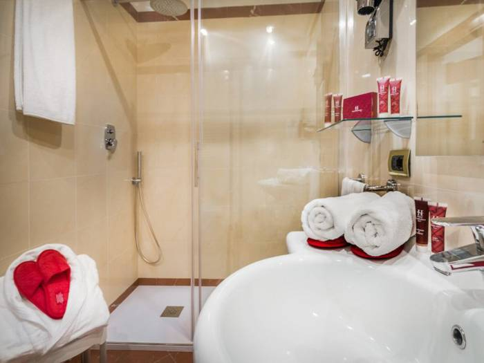 Comfort double room hotel diocleziano**** rome