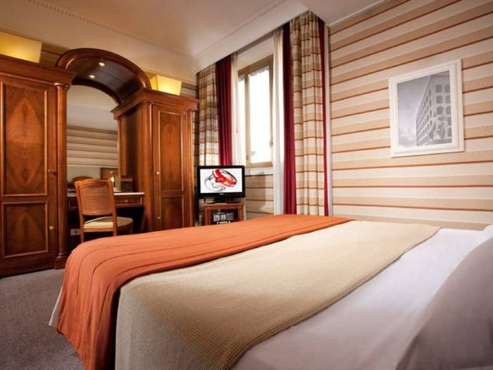 Superior double room hotel mascagni**** rome