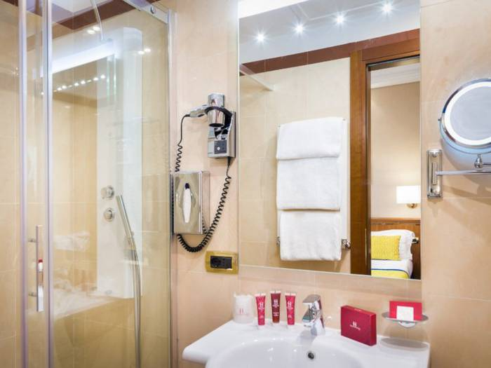 Double room hotel diocleziano**** rome