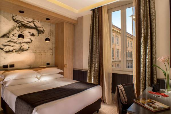 Superior double room Hotel Royal Court**** in ROME