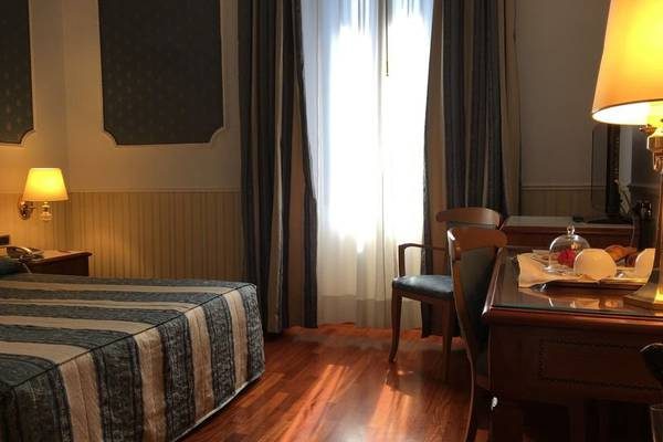 Classic double room Andreola Central Hotel**** in MILAN