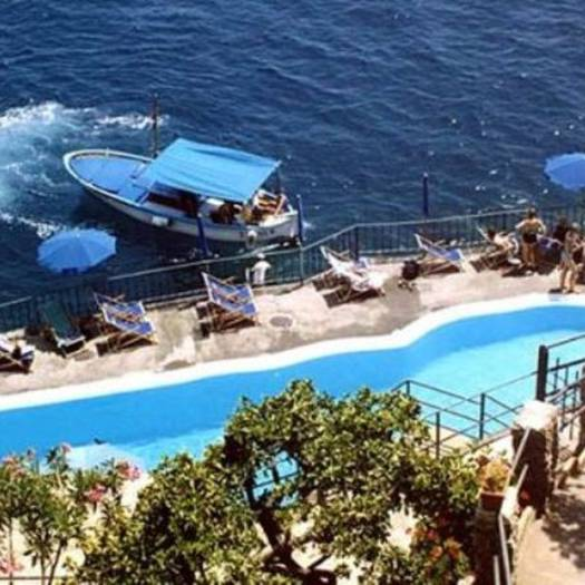 Swimming pool hotel luna convento**** amalfi