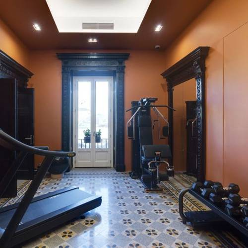 Fitness room mascagni luxury rooms & suites**** rome