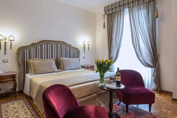Deluxe double room with view Hotel Forum**** in ROME