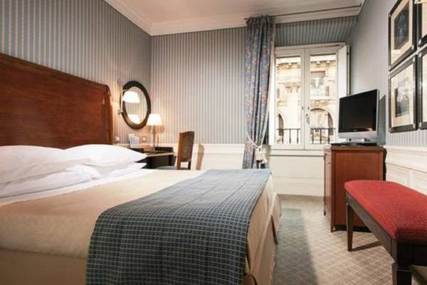 Classic double for single use Hotel Stendhal**** in ROME