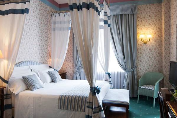 Deluxe double room Hotel Victoria**** in TURIN