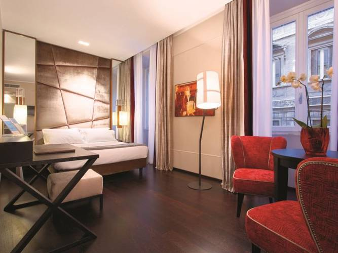 Double room stendhal luxury suites**** rome