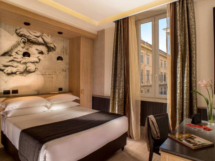 Superior double room hotel royal court**** rome