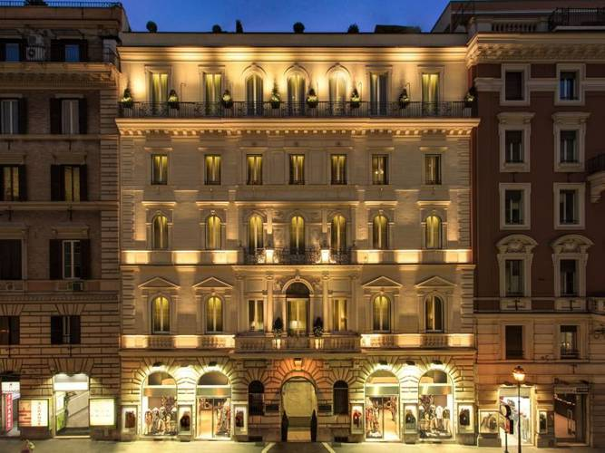 Outdoors hotel artemide**** rome